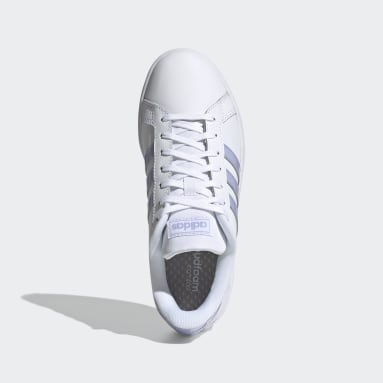 Women's Essentials White Grand Court Shoes