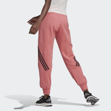 Women Sportswear Pink Sweat Pants