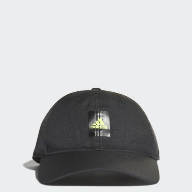 Running Black Essentials Logo Lightweight Cap