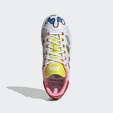 Sapatos Stan Smith Primeblue Branco Criança Originals