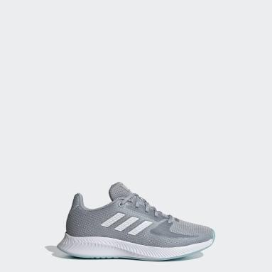 Kids Running Grey Runfalcon 2.0 Shoes