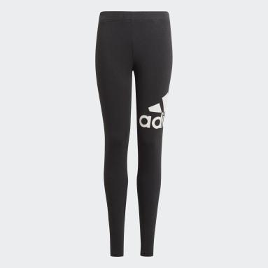 Meisjes Sportswear Zwart adidas Essentials Legging