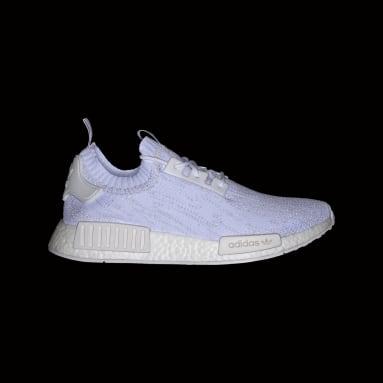 Sapatos NMD_R1 Primeknit Branco Originals