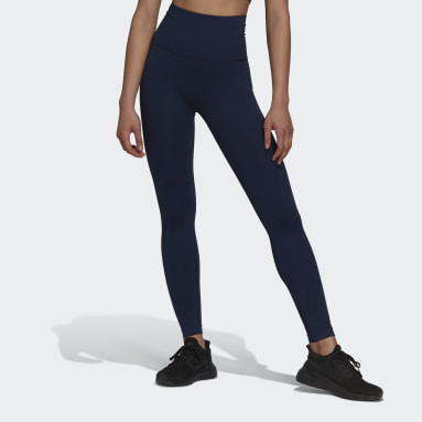 Women Gym & Training Blue Formotion Sculpt Tights