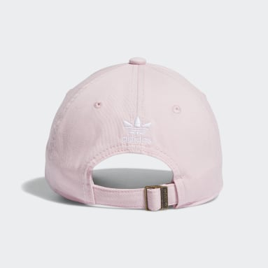 Children Originals Pink Washed Relaxed Strap-Back Hat