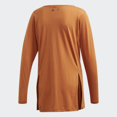 Women's Sportswear Brown Wrapped Wanderlust Tee