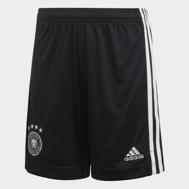 Barn Fotboll Svart Germany Home Shorts