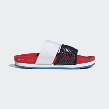 Women adidas by Stella McCartney Red adidas by Stella McCartney Lette Slides