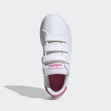 Mädchen Freizeit Advantage Schuh Weiß