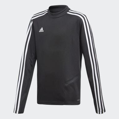 Camiseta entrenamiento Tiro 19 Negro Niño Gimnasio Y Entrenamiento