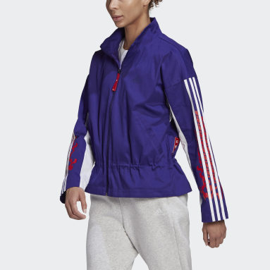 Women Sportswear Purple CNY Light Jacket