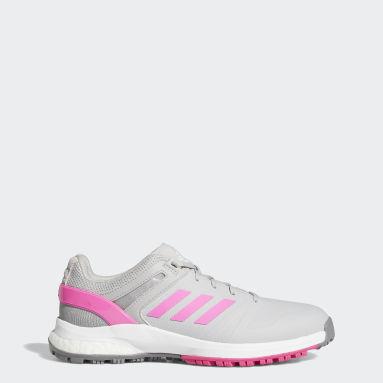 Women's Golf Grey EQT Spikeless Golf Shoes