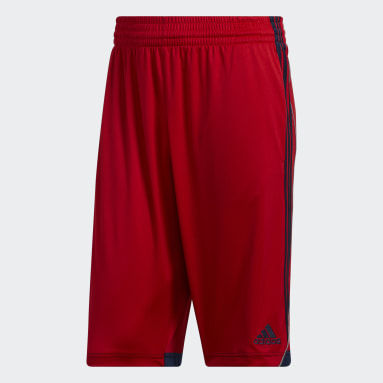 Men Basketball Red 3G Speed Shorts