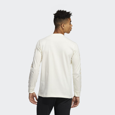 Men Sportswear White adidas Geo Long Sleeve Graphic T-Shirt