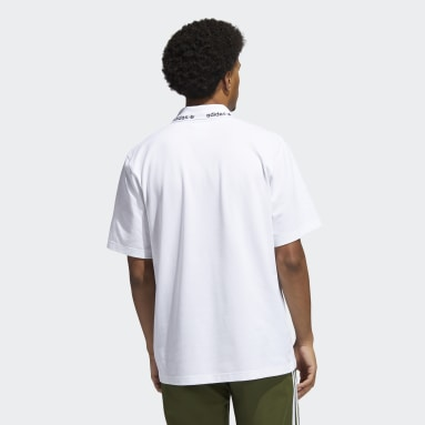 Polo SPRT Blanc Hommes Originals