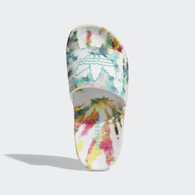 Youth Originals White Adilette Lite Slides