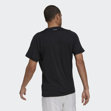 Men's Tennis Black Tennis Freelift Tee