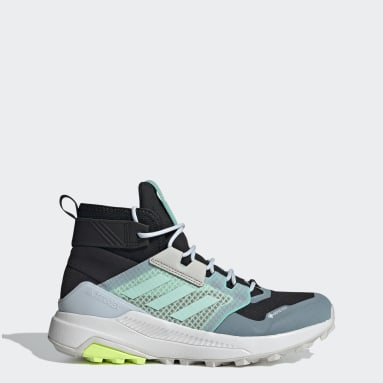 Women TERREX Black Terrex Trailmaker Mid GTX Shoes