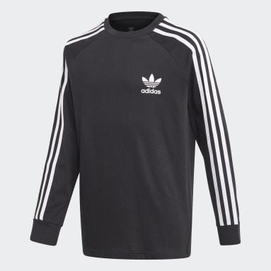 T-shirt 3-Stripes noir Adolescents Originals