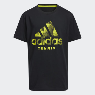 Youth Tennis Black Make the Shot Tee