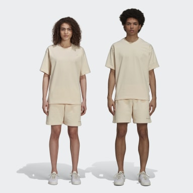 Originals Beige Pharrell Williams Basics Shorts (Gender Neutral)
