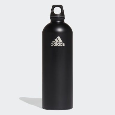 Volleyball Black Steel Bottle .75 L