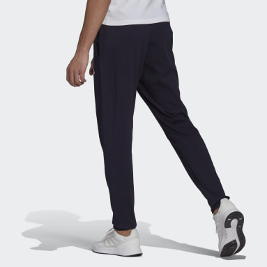 Men's Essentials Blue Essentials Tapered Pants