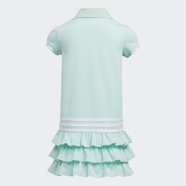 Children Training Turquoise Polo Dress
