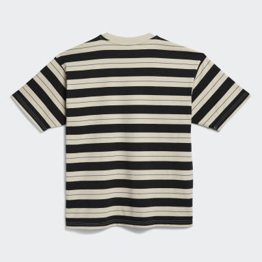 Originals Zwart Yarn-Dyed T-shirt