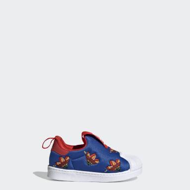 Kinder Originals Superstar 360 Schuh Blau