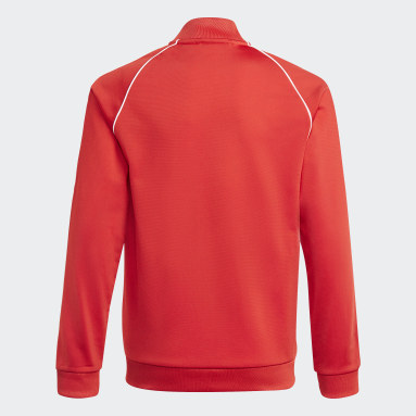 Kinderen Originals Rood Adicolor SST Trainingsjack