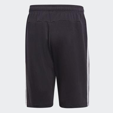 Calções Moletão 3-Stripes Essentials Preto Homem Sportswear