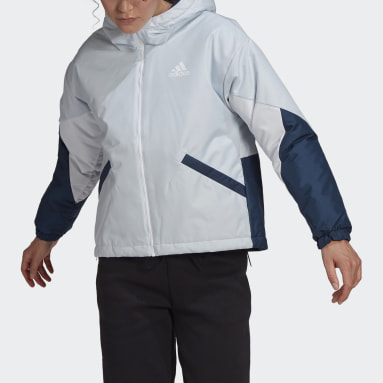 Γυναίκες City Outdoor Μπλε Back to Sport Insulated Jacket