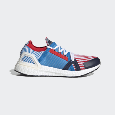 Women adidas by Stella McCartney Blue adidas by Stella McCartney Ultraboost 20 Shoes