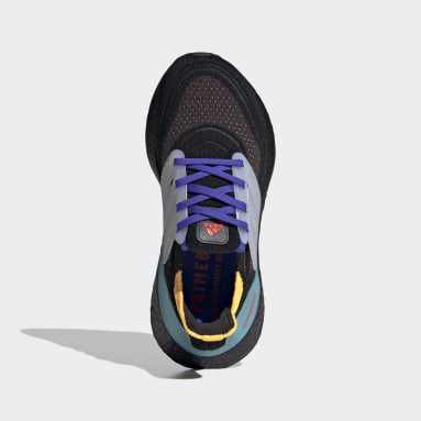 Youth 8-16 Years Running Black Ultraboost 21 Primeblue Boost Running Shoes