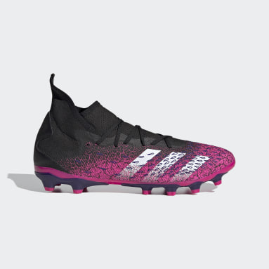 Football Black Predator Freak.3 Multi-Ground Boots