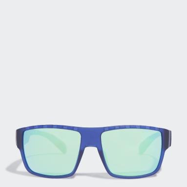 Padel Tenis modrá Sluneční brýle SP0006 Matte Blue Injected Sport