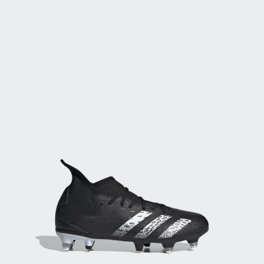 Botas de Futebol Predator Freak.3 – Piso mole Preto Rapazes Futebol