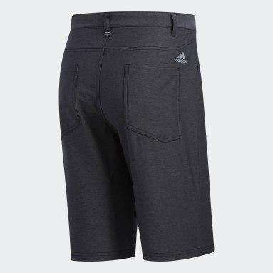 Men's Golf Black Ultimate365 Heather Five-Pocket Shorts
