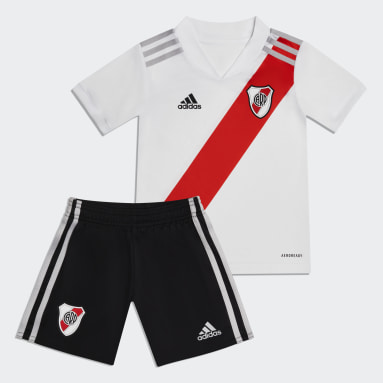 Minikit Uniforme Local River Plate 20/21 (UNISEX) Blanco Niño Fútbol