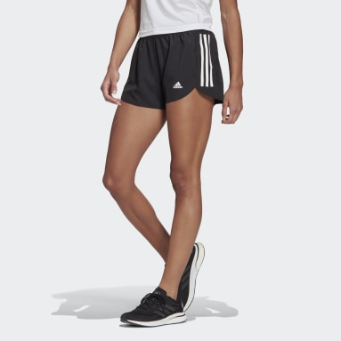 Shorts Run It Preto Mulher Running