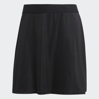 Women's Tennis Black Club Skirt 16-Inch