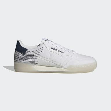 Chaussure Continental 80 Primeblue Blanc Originals
