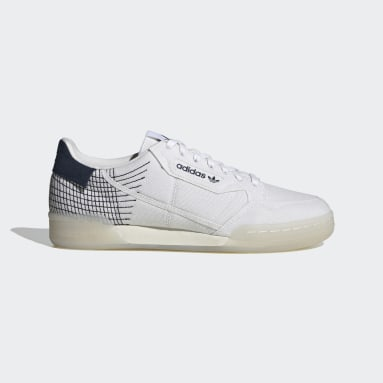 Men Originals White Continental 80 Primeblue Shoes