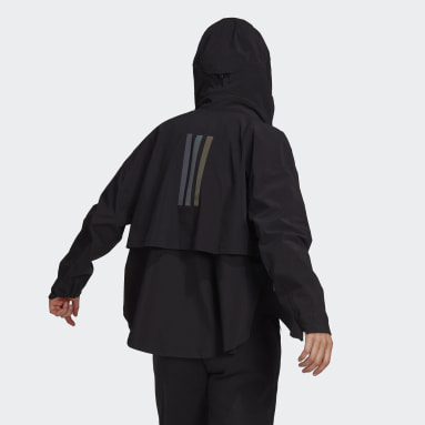 Women Outdoor Black MYSHELTER Rain Jacket