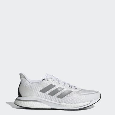 Men Running White Supernova+ Shoes