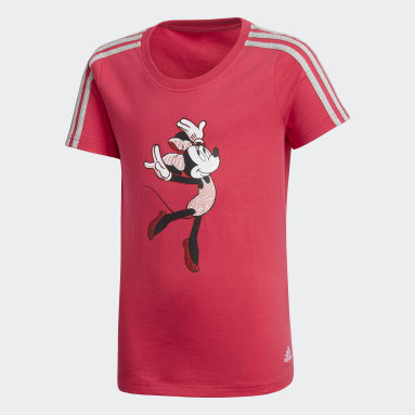 T-shirt Gym Rose Filles Fitness Et Training