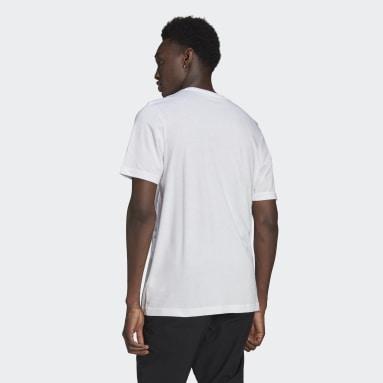 Men Originals White LOUNGEWEAR Adicolor Essentials Trefoil T-Shirt
