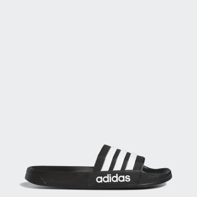 Yoga Black Adilette Shower Slides