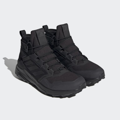 Men TERREX Black Pharrell Williams Trailmaker Mid GORE-TEX Hiking Shoes